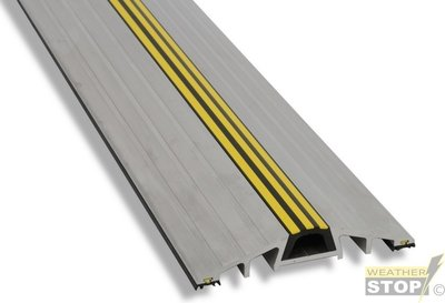 TIJDELIJK NIET LEVERBAAR Drempelprofiel aluminium 2,5cm hoog