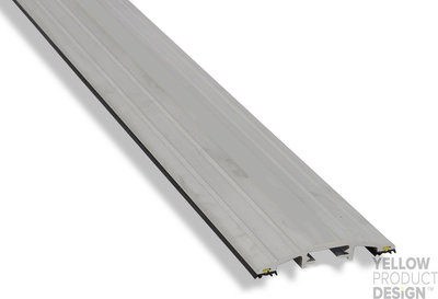 Drempelprofiel aluminium 1,5cm hoog